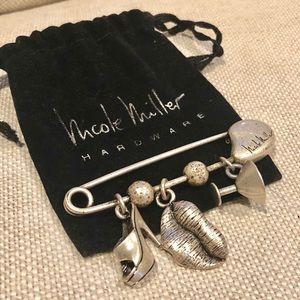 Nicole Miller Pin